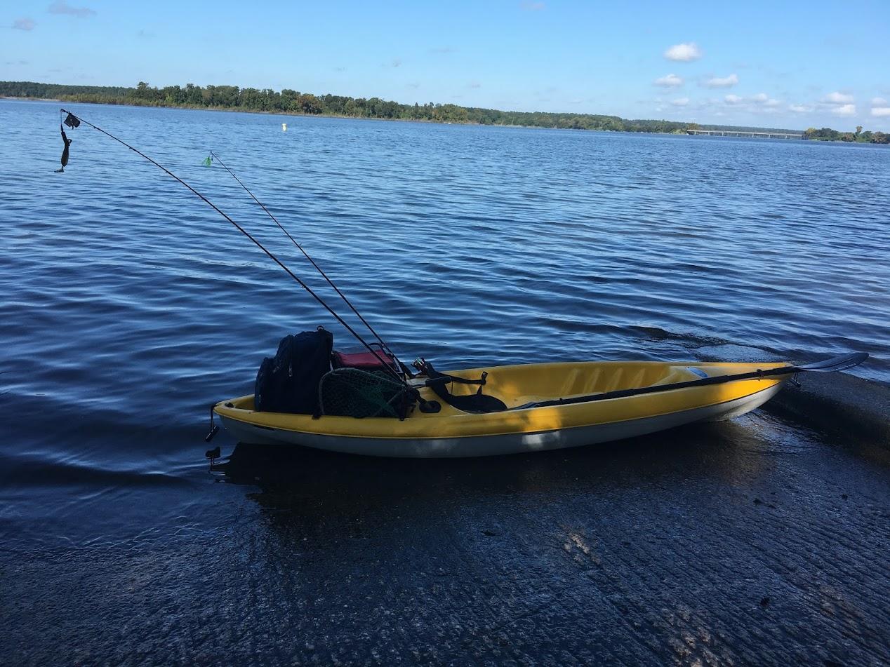 Kayak lake conroe bass fishing tx for Lake conroe fishing